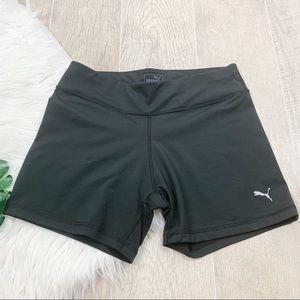 Puma Black Stretch Fitted Athletic Wear Short 3171